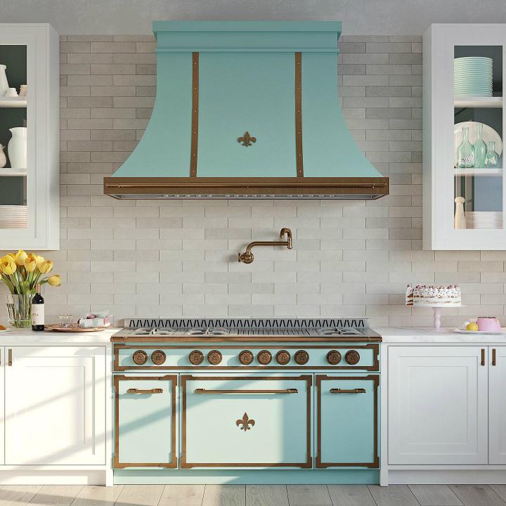 Идея дизайна кухни в парижском стиле 3