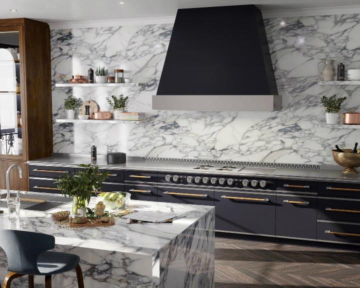 Идея дизайна кухни в парижском стиле 5