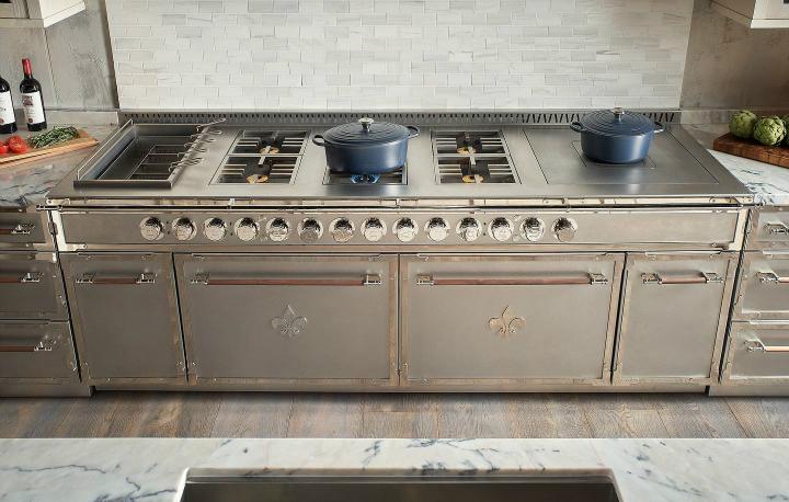 Идея дизайна кухни в парижском стиле 10