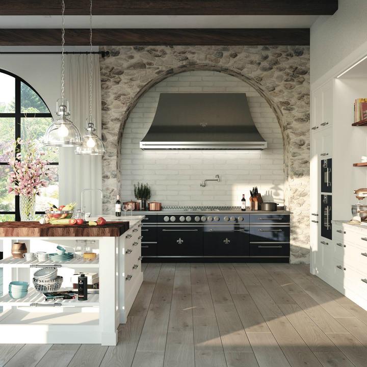 Идея дизайна кухни в парижском стиле 1 7