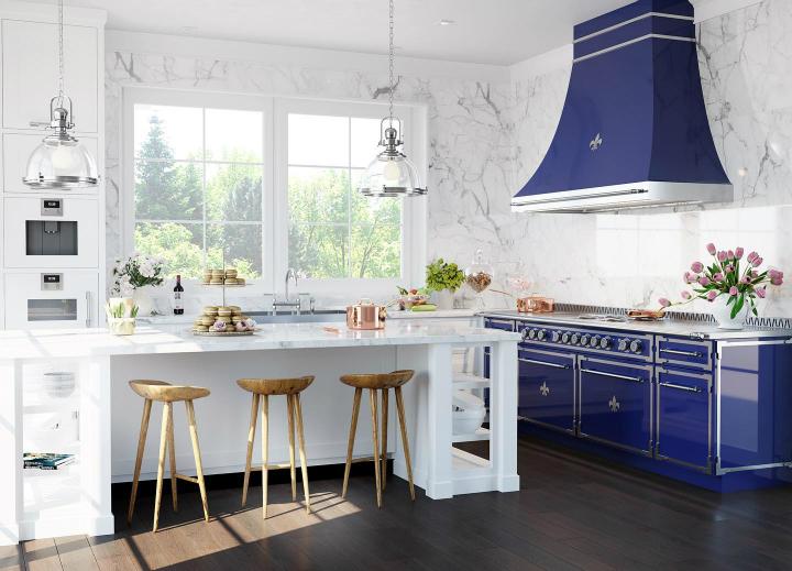 Кухня в парижском стиле идея дизайна 7