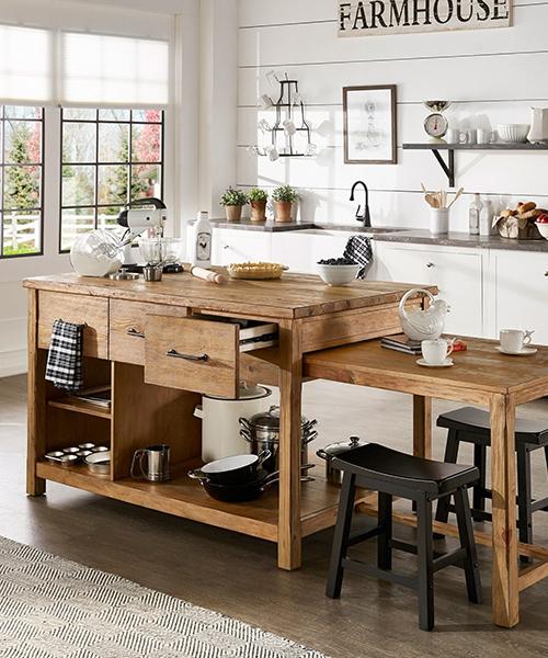 идея дизайна кухни в стиле кантри в белом цвете