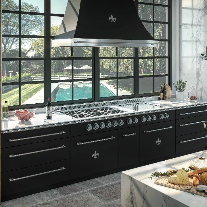 Идея дизайна кухни в парижском стиле 19