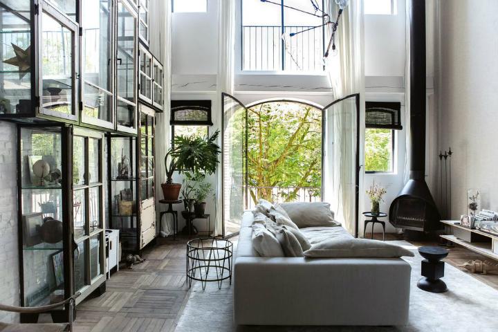 Винтажные домашние интерьеры 4