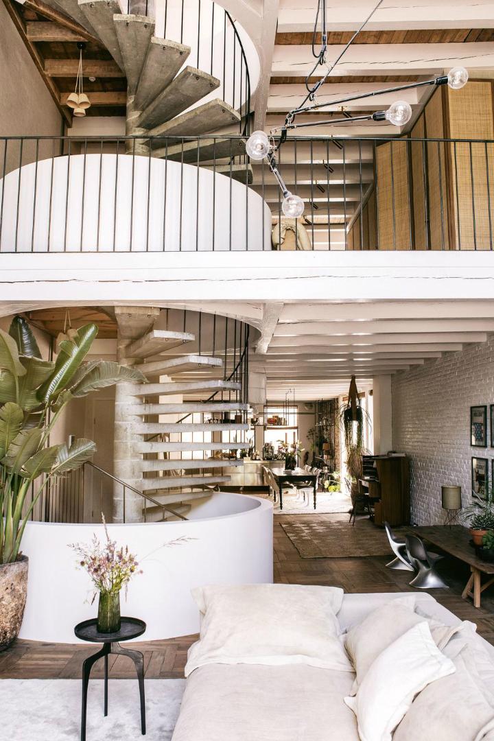 Винтажные фотографии домашнего интерьера 2